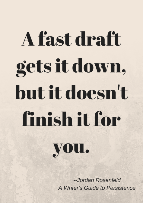 A fast draft gets it down Jordan R