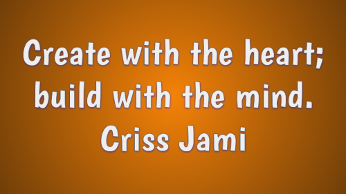 Criss Jami quote about creativity