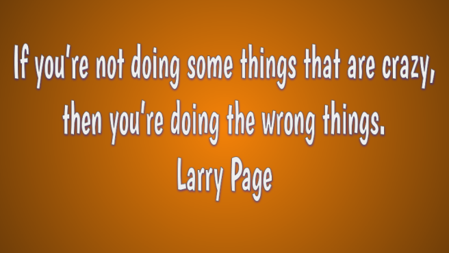 Larry Page quote about creativity