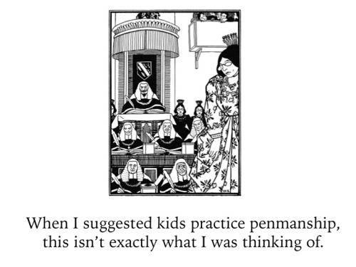 teacher ecard penmanship