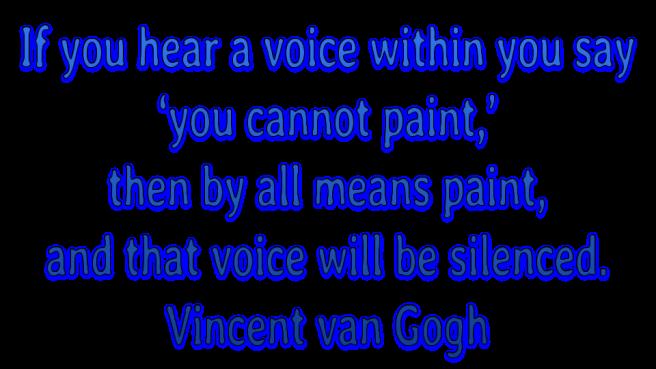 Creativity Quotes 3 van gogh paint