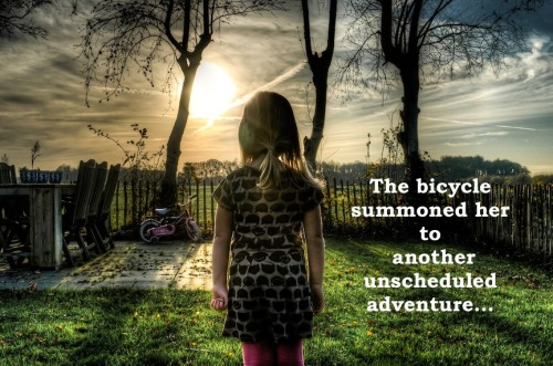 girl-dawn-bicycle captioned