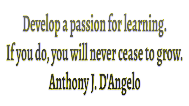 _Quotes about Learning-passion Dangelo