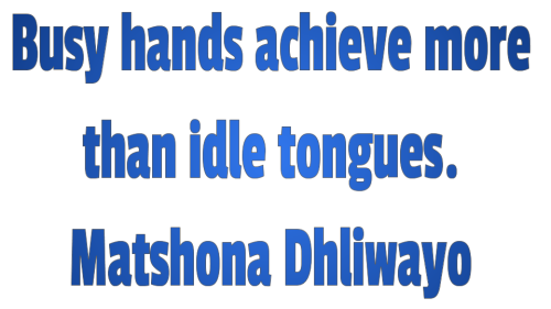 Diligence busy hands Quotes