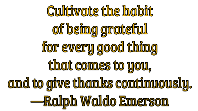 Gratitude Quotes cultivate habit