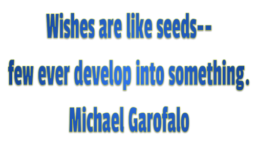 determination wishes seeds Quotes