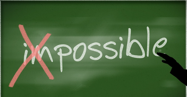 possible-impossible chalkboard 2