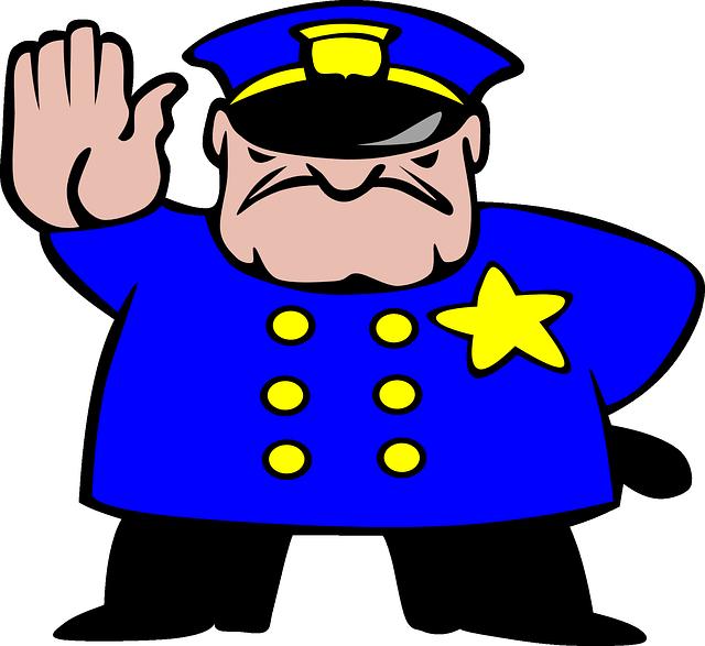 mean traffic cop