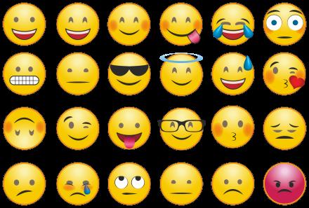 16 emojis