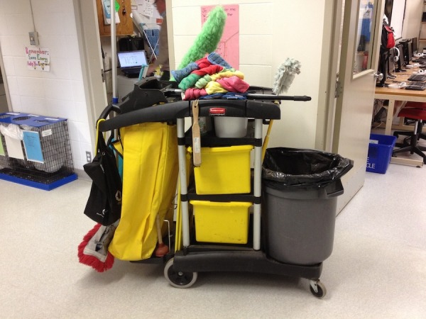 custodian's cart